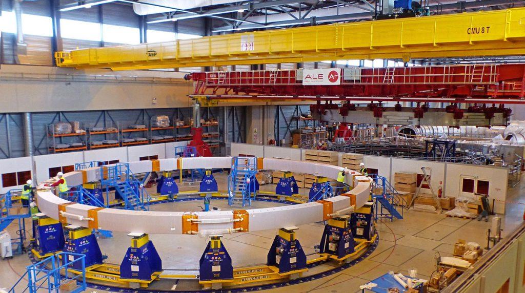 ITER PF Coils impregnation
