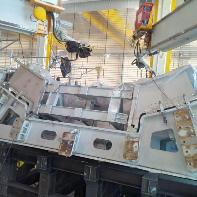 ITER Vacuum Vessel sector 5 Poloidal segment 3
