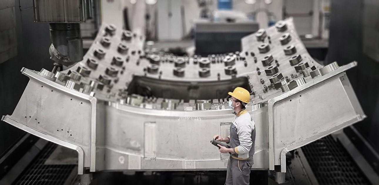 Final machining of segment 3-sector 5