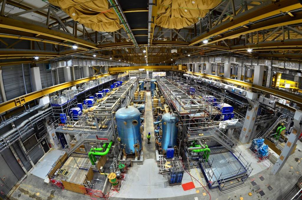 The ITER Cryoplant will provide cooling fluids to 10,000 tonnes of superconducting magnets, eight massive cryopumps, and thousands of square metres of thermal shielding.