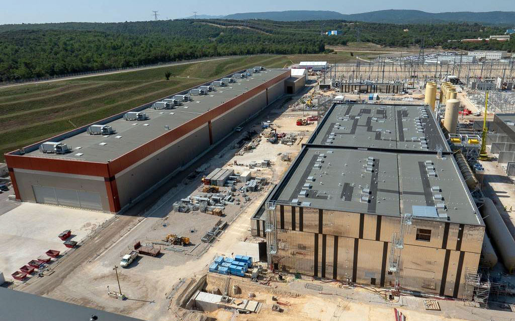 ITER PF coils factory