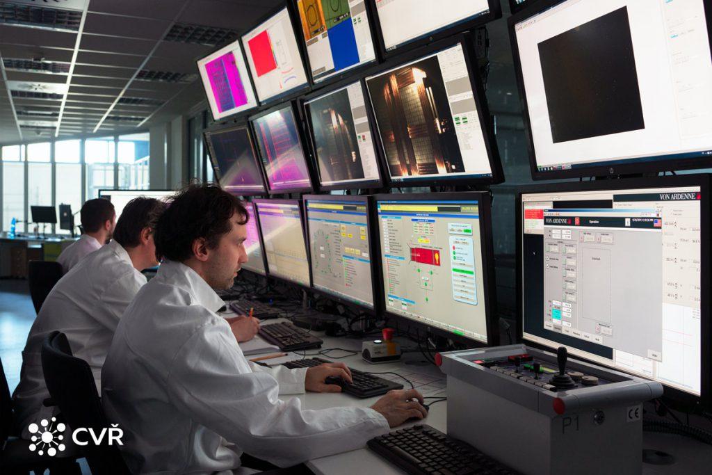 Control centre of HELZCA Facility