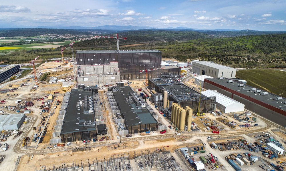 East view ITER site