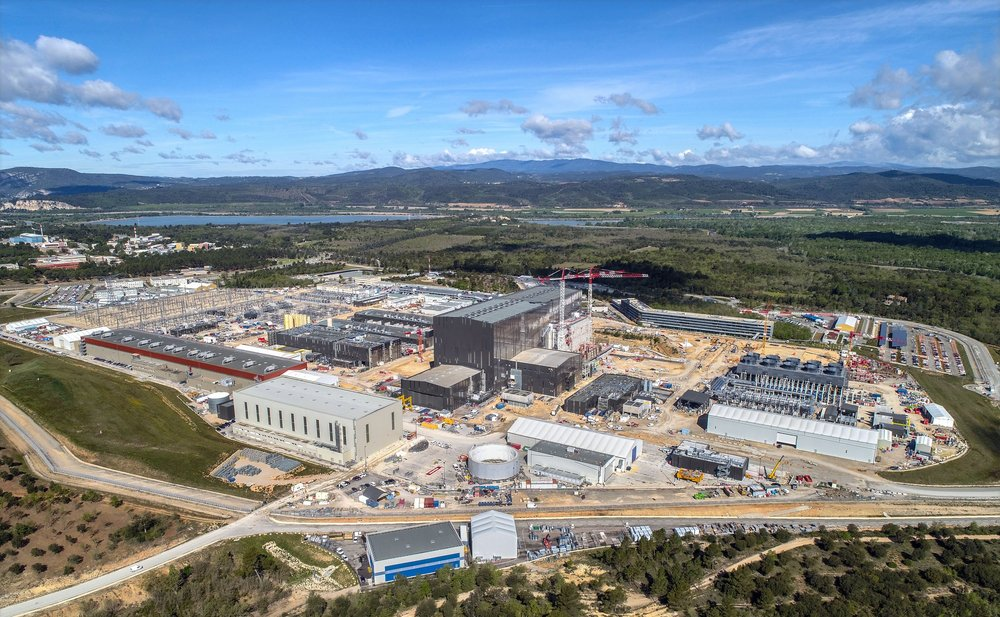North view ITER site