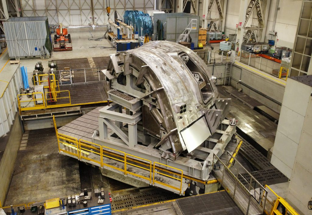 Another segment of sector 5 of the ITER Vacuum Vessel