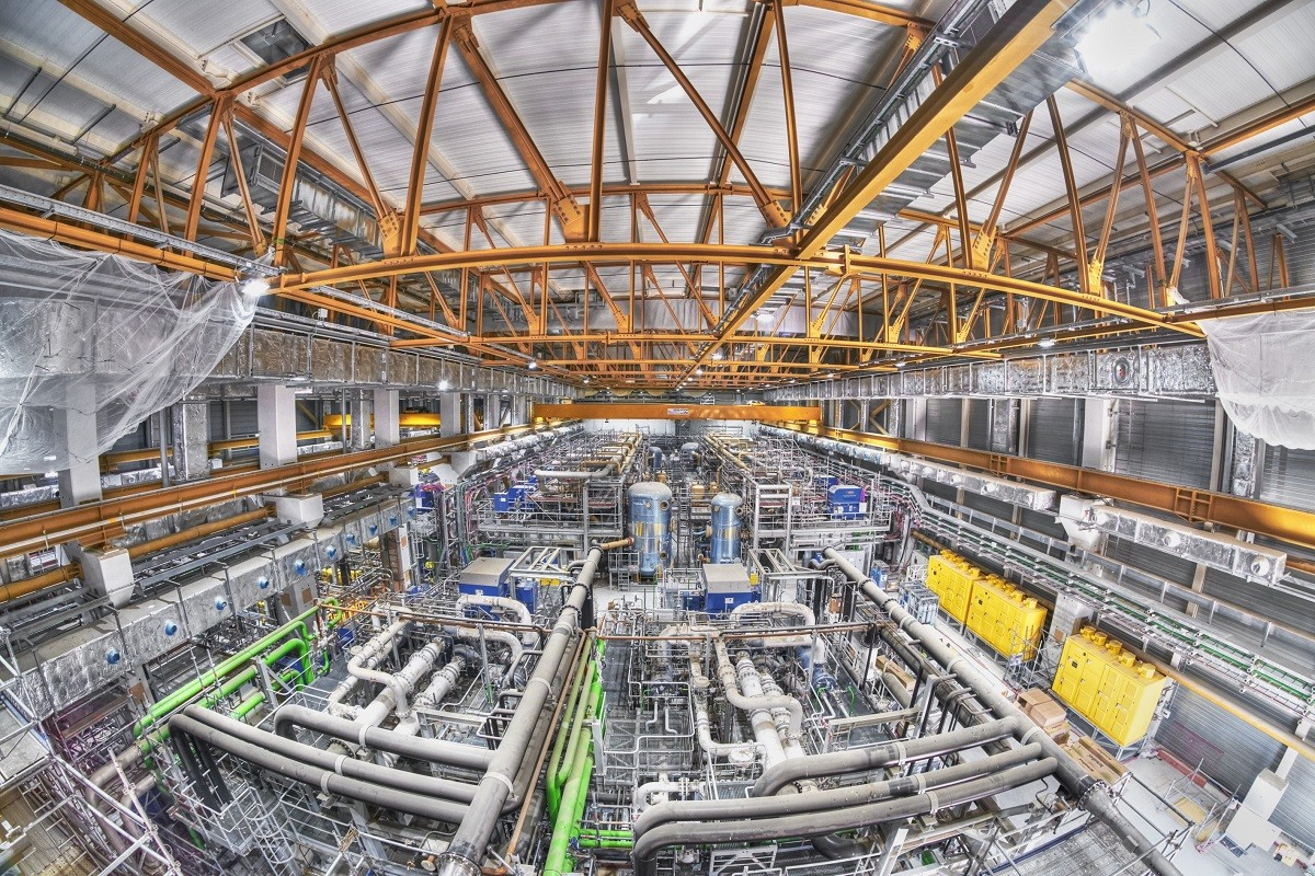 The commissioning of the ITER Cryoplant is about to start. ITER site, France, March 2021. © Christian Lünig (www.arbeitsblende.de)